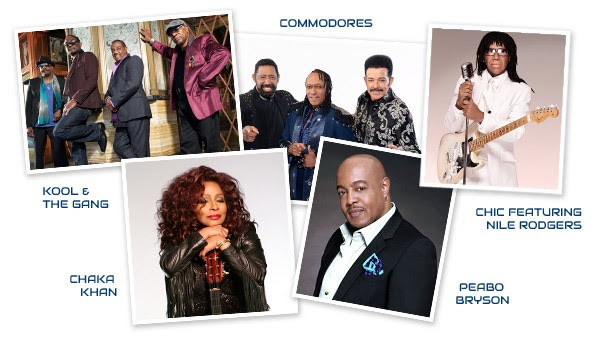 2017 Soul Train Cruise Line Up