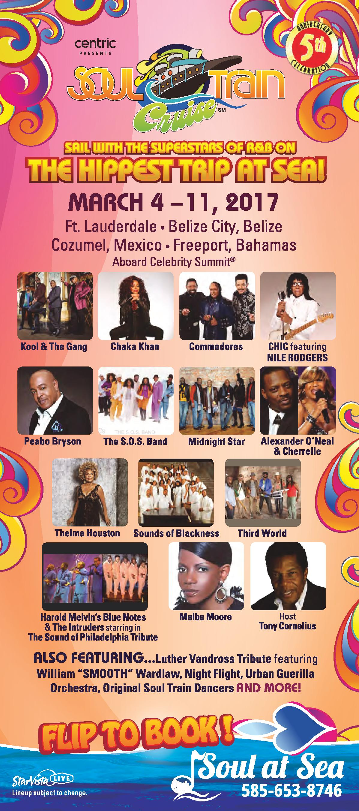 Soul Train Cruise Panel Card - Front