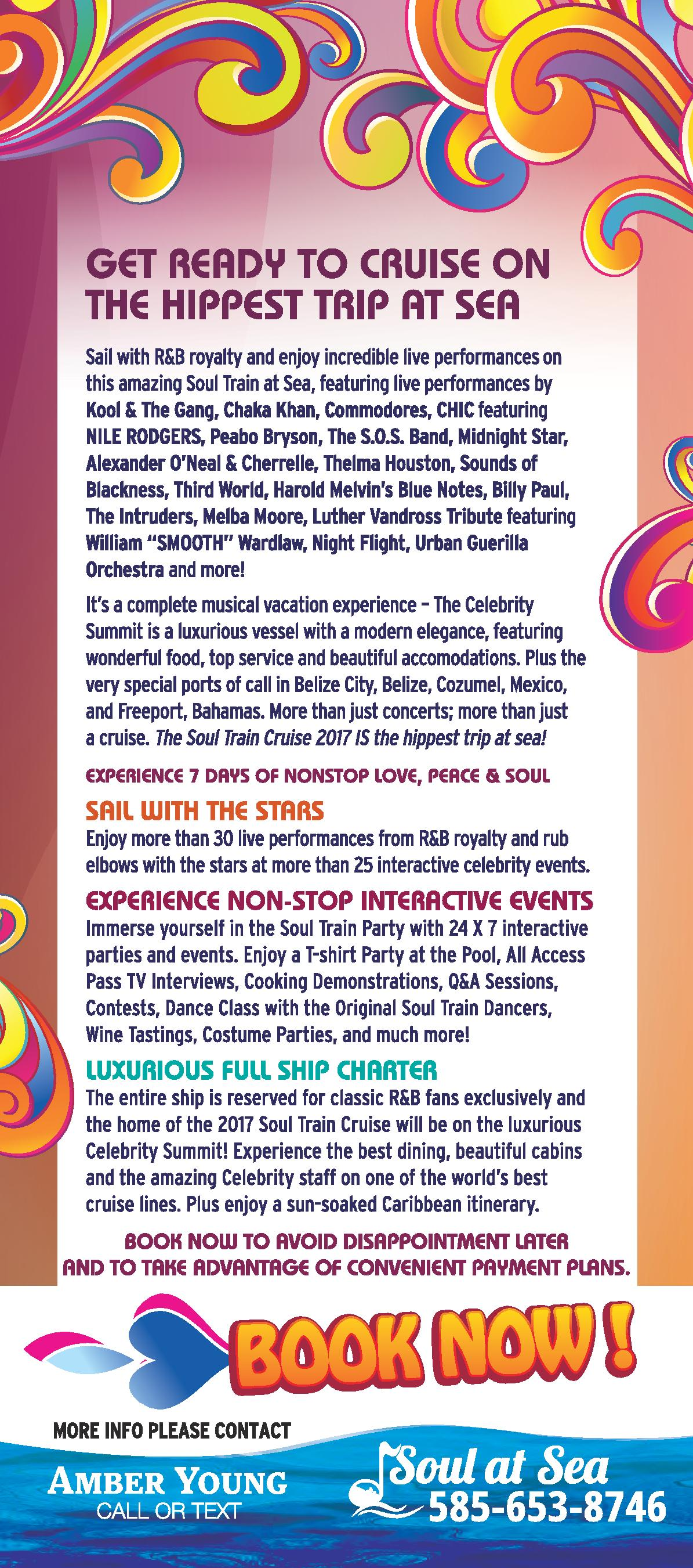 Soul Train Cruise Panel Card - Back