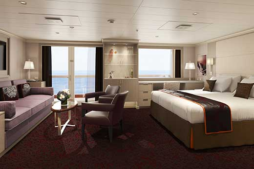Eurodam Neptune Suites Soul At Sea