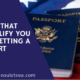 Things That Disqualify You From Getting a Passport