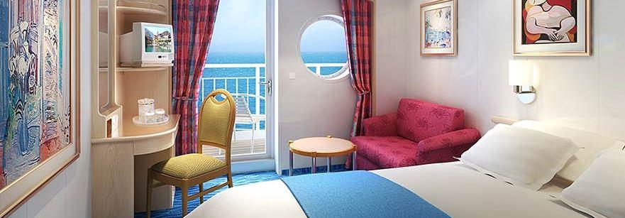 Balcony - Los Tres Amigos Cuba Cruise 2018